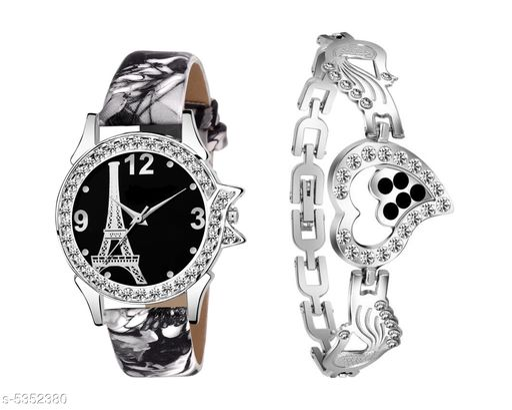 New Arrival Stylish Women watch  and bracelet for women