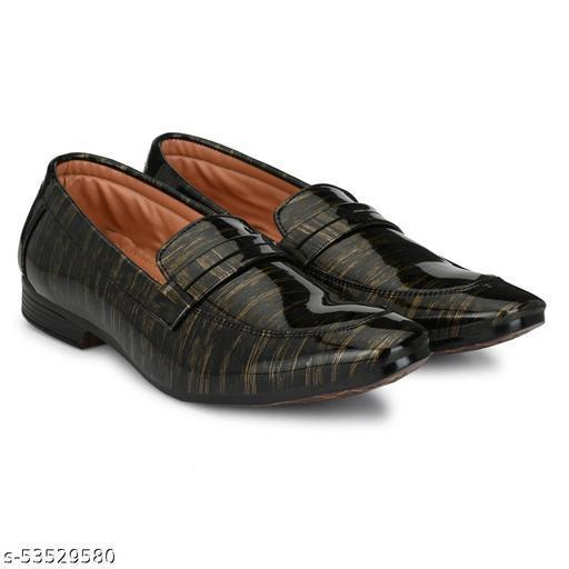 Shiney Slip Ons Loafer