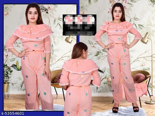Fancy chiffon dress for girls