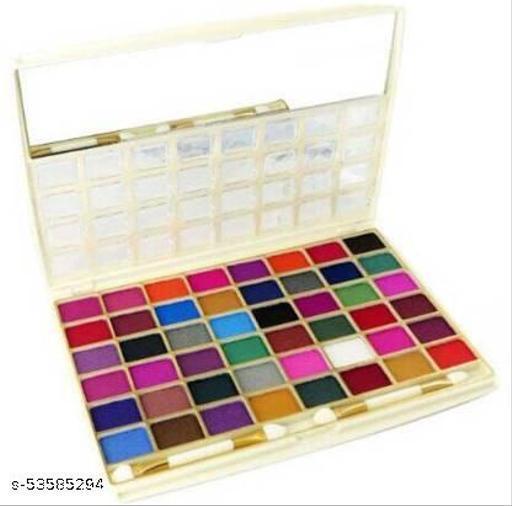 Hilary Rhoda Professional Improved Shimmer Eyeshadow Palette HR-1285~48 Shimmer Color ~ ColorSet-01, 58 g  (ColorSet-01-Shimmer)