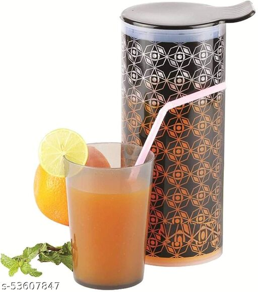 Juicy jug- 1 LTR with 6 Glass