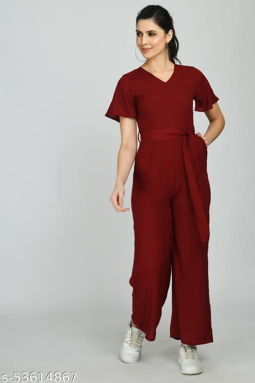 Trend Pick Solid Women Jumpsuit