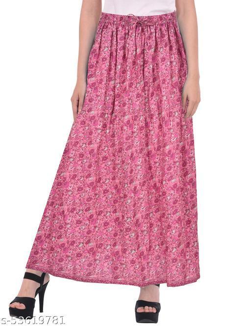 """Cotton Breeze Women""""s Long Skirt"""