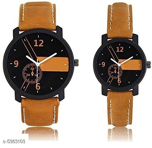 Attractive Couple Watches