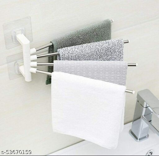 4 bar towel rack