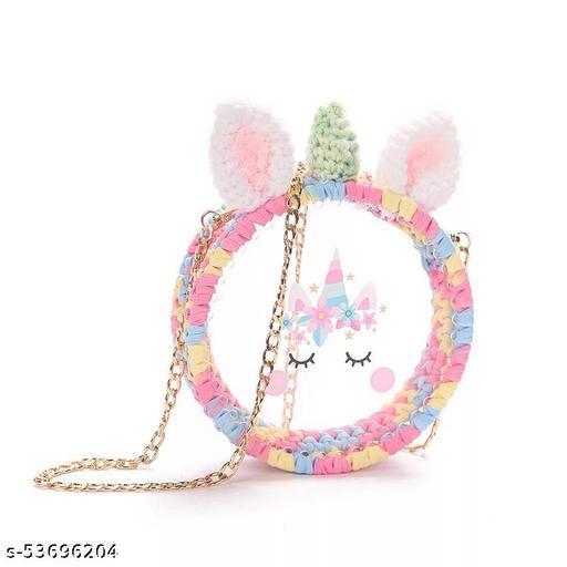 Transparent Unicorn Sling Bag