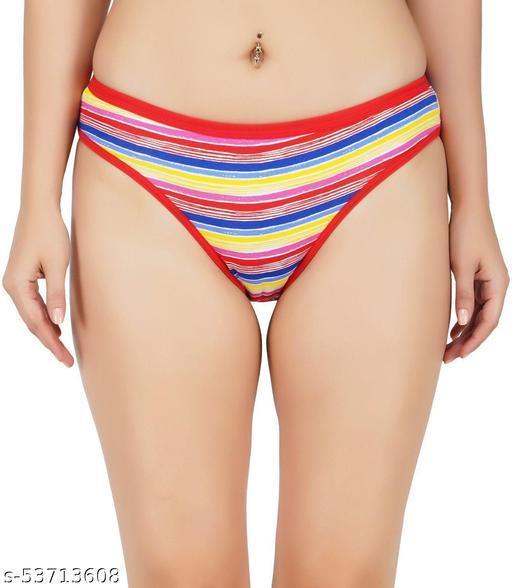 KWALITIFORM Women Bikini Multicolor Panty  (Pack of 1)