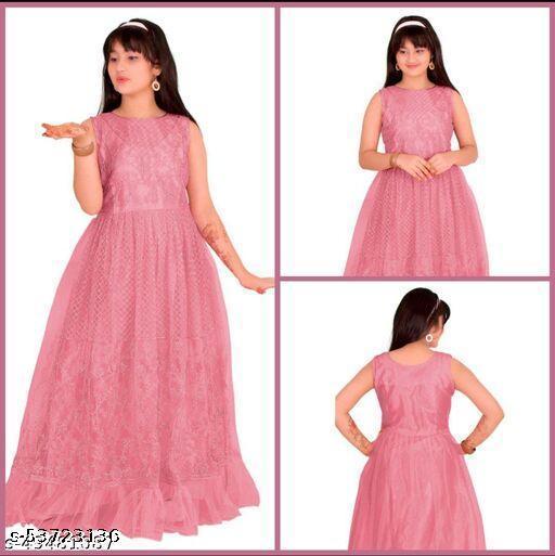 Princess Trendy Girls Ethnic Gowns