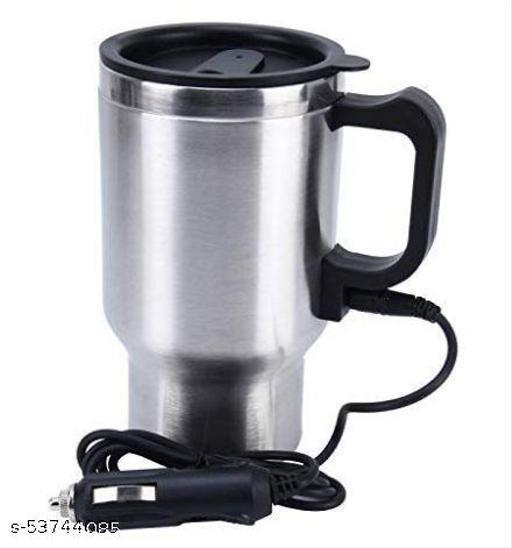 Stainless Steel Electric Smart Mug 12V CAR Electric Kettle