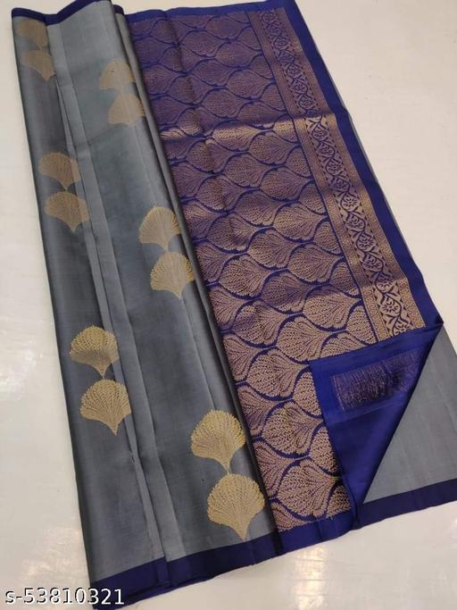 Women's kanjivaram Bandhani Jacquard silk saree with blouse piece