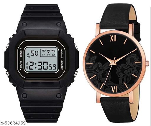 CW_122 Sports Digital and Analog Watch - For Womens and Girals