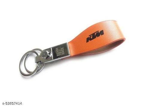 COFFARS KTM High End Fasion Holder Best Collectible and Gifting Item Orange Metal Keyring Key Chain