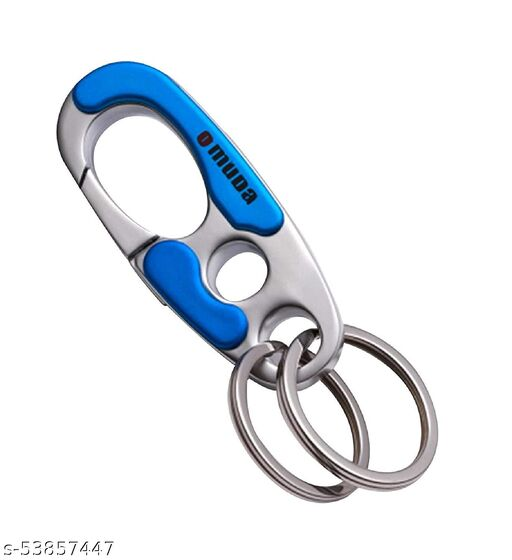 COFFARS Omuda High End Fasion Holder Best Collectible and Gifting Item Blue Metal Keyring Key Chain