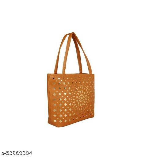 Brown color Exclusive and Stylish Handbag for Girls for Teachers / College / Fund / Study / Office use
