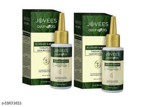 Jovees Ayurveda Therapeutic Hair Revitaliser - Pack of 2 (50 ml X 2 = 100 ml)
