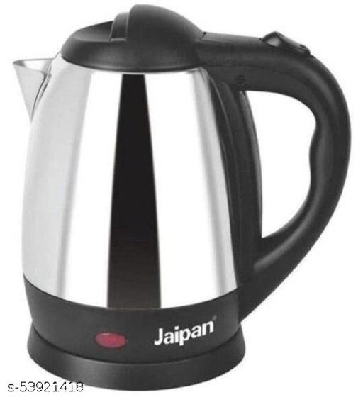 Stainless Steel Silver and Black JEK-1500 Jaipan Electric Kettle, Capacity(Litre): 1.8 Litre