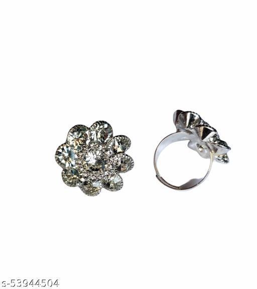 Radler Jewellery  Fashion Stylish Fancy Party Wear rings for Women's & Girl's Pack of 2