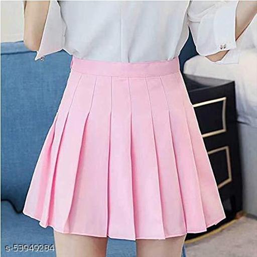 Women Girl Short High Waist Pleated Skater Tennis Skirt Mini Skirt for Women Girls