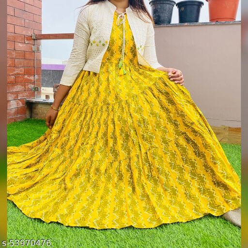 Aishani Refined Women Gowns