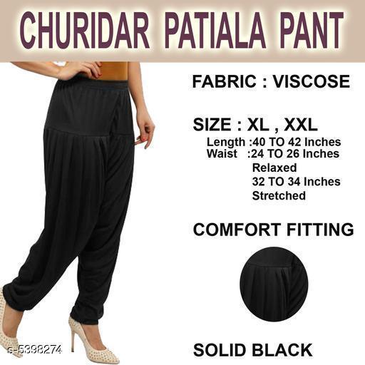 Trendy Stylish Viscose Women's Patiala Pant