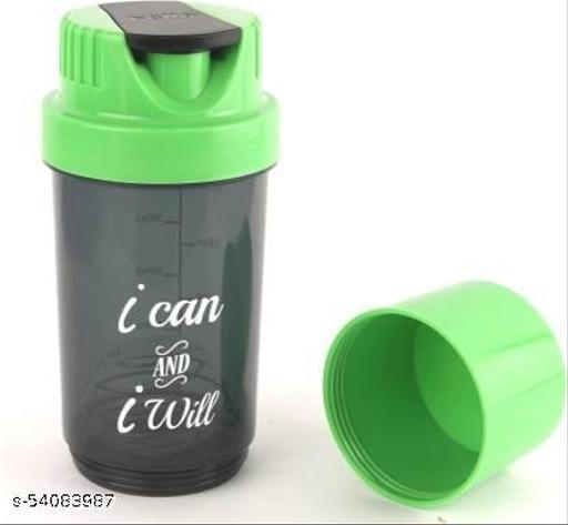 Classic 700 ml Shaker Bottle (Pack of 1, Green)