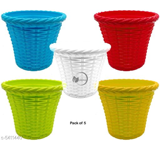 Pots & planters Classy Decorative Flower Pots Material: Plastic