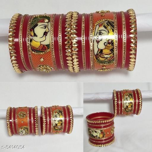 Elegant Rajwadi chura Bangles