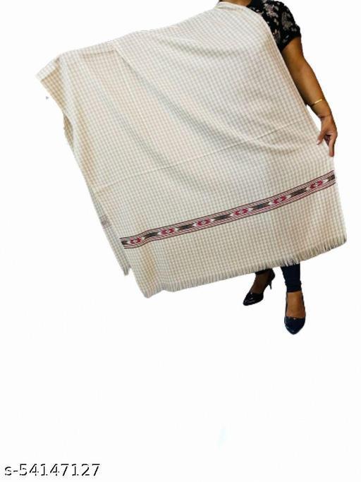 Fine Wool Kullu Check Shawl