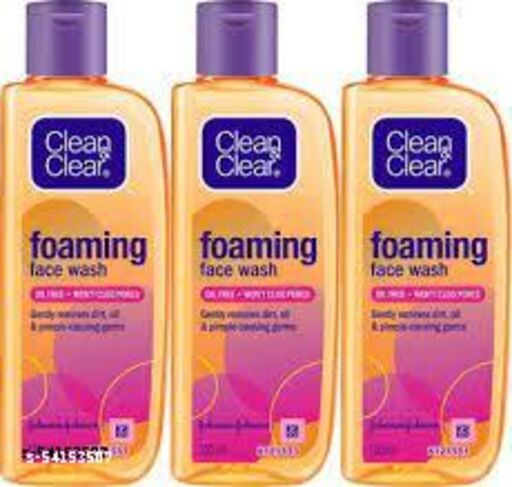 CLEAN&CLEAR Foaming Face Wash