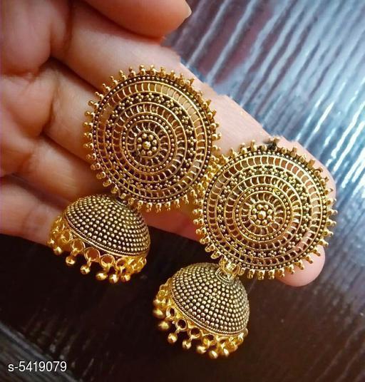 Elite Oxidized Women's Earrings