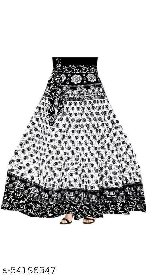 Woman Stylish Cottan skirt