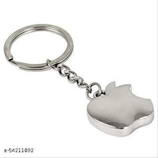 Apple Shape Stainsteel Keychain