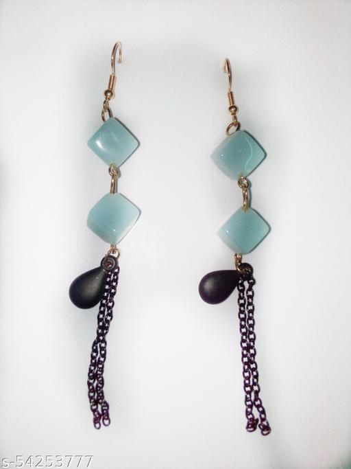 Shimmering Chunky Women  earrings
