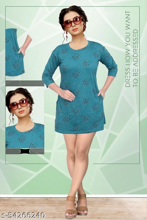 Long print 01 Dresses