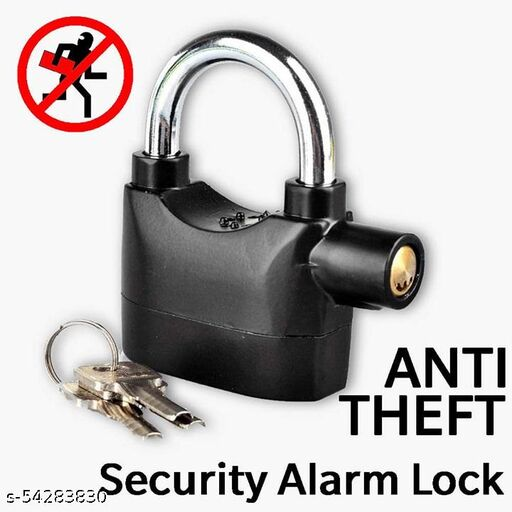 Anti-Theft Motion Sensor Alarm Lock for Home, Office and Bikes