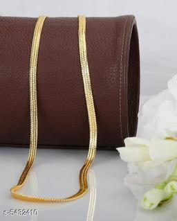 Stylish Men's Golden Aloy Chain