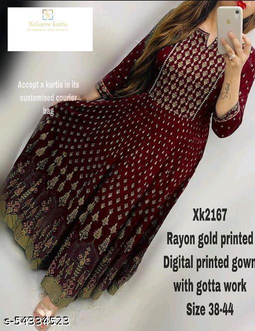 Chitrarekha Fashionable gown