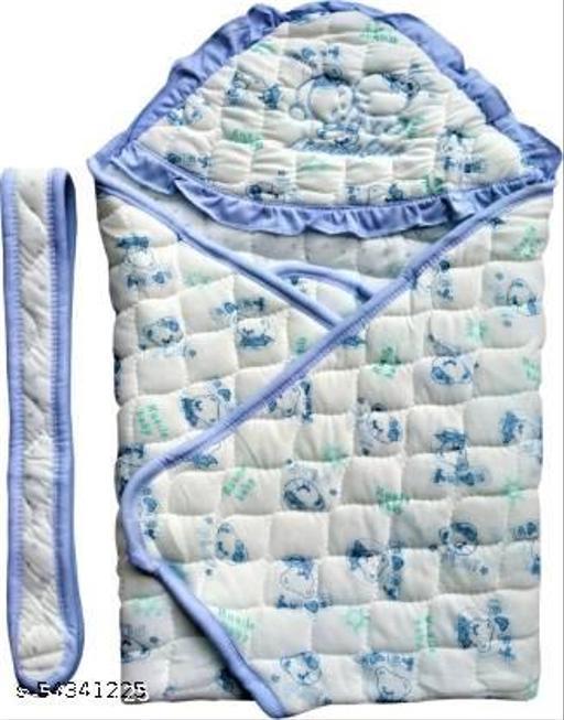 Reshu Presents Hooded Towel, Wrapper blanket Sleeping Bag Cum Nest Bag Sleeping for New born baby