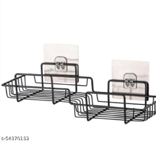 zigzag bathroom shelf 1pcs
