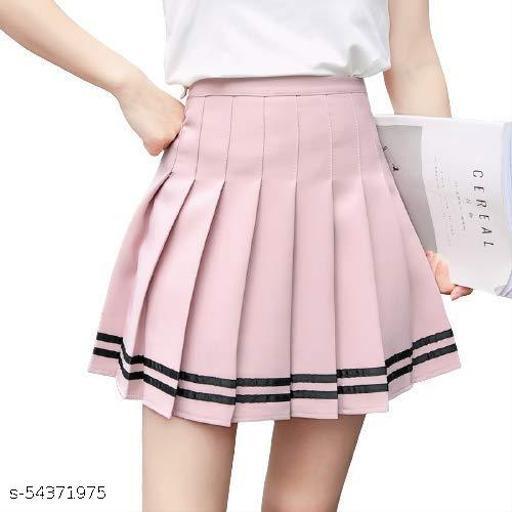 pink skirt for women girls