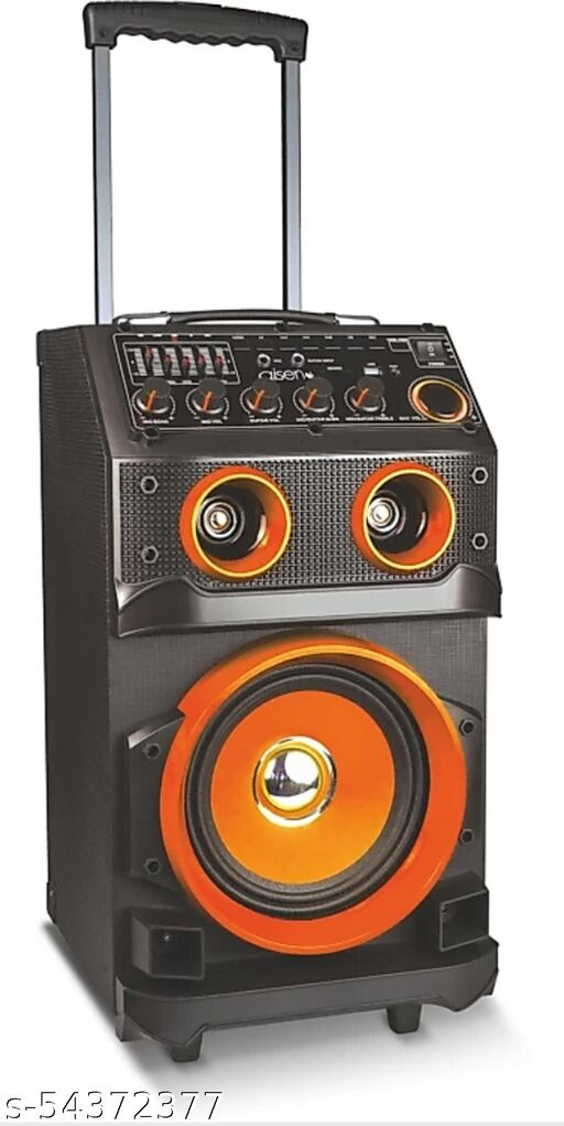 Aisen 70W Rms Walk & Rock Portable Party Speaker , Bluetooth Home Theater With Wireless Mic