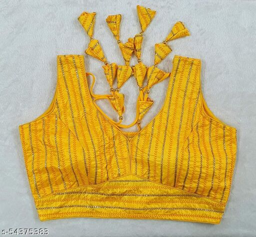 Upada Silk Fabric With Sequence Blouse