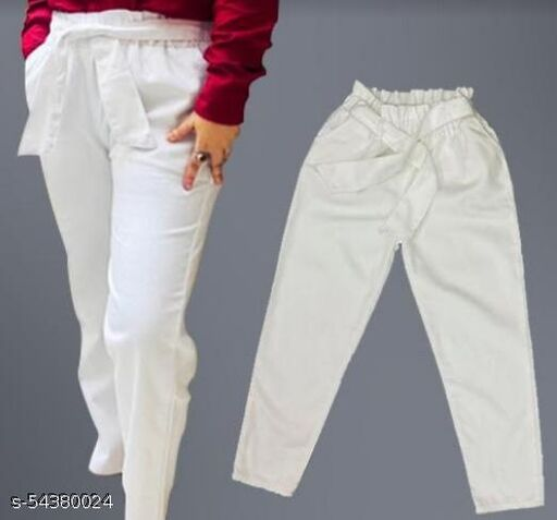 Fancy Modern Women  cotton Jeans