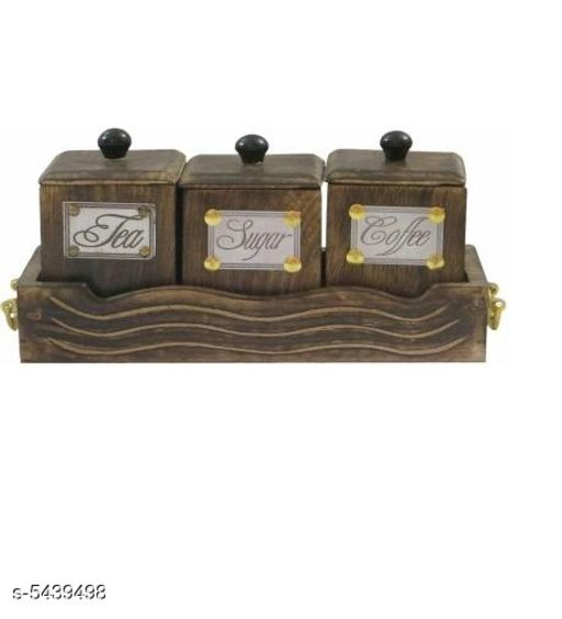 tea coffee & sugar/ Spice container/ condimet set/dry fruits box