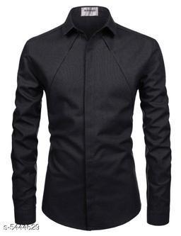 Trendy Fabulous Linen Men Shirts