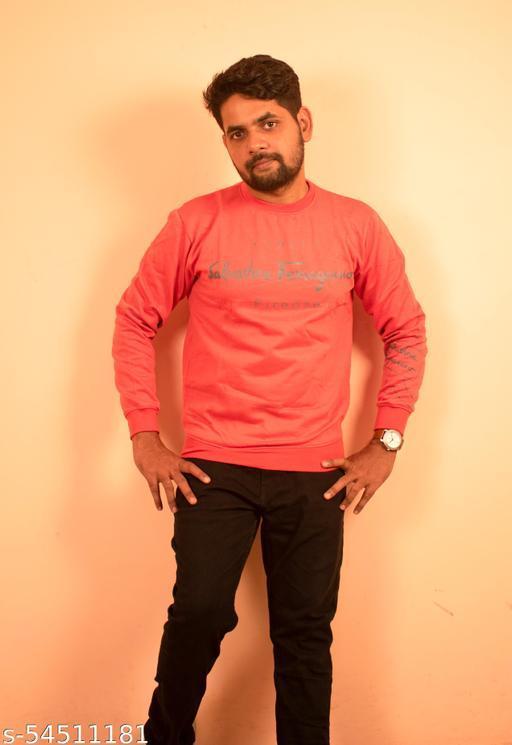 Strechable Printed Sweatshirt