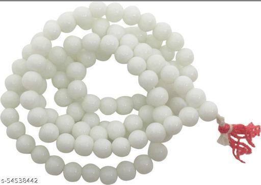 Raviour Lifestyle Yellow Agate Hakik 108 Beads Buddhist Prayer Japa Rosary Wearing Fashion Wear Mala