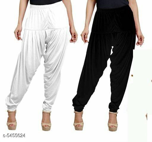 Fabulous Women's Patiala Pants Combo (Pack Of 2)