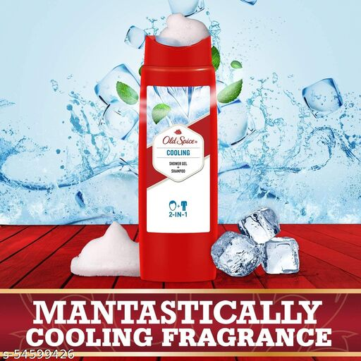 Old Spice Cooling Imported 2in1 Shower gel and Shampoo  (400 ml)
