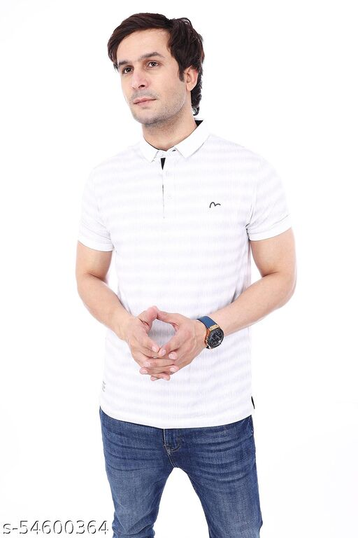 MEN'S POLO  SOLID COMFORTABLE  SLIM FIT